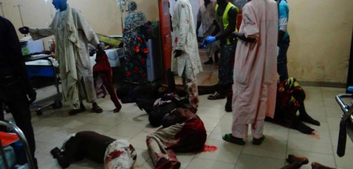 Nigeria: Des dizaines de victimes dans un triple attentat-suicide