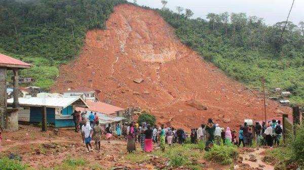 La Sierra Leone en appelle à l'aide internationale après les pluies diluviennes