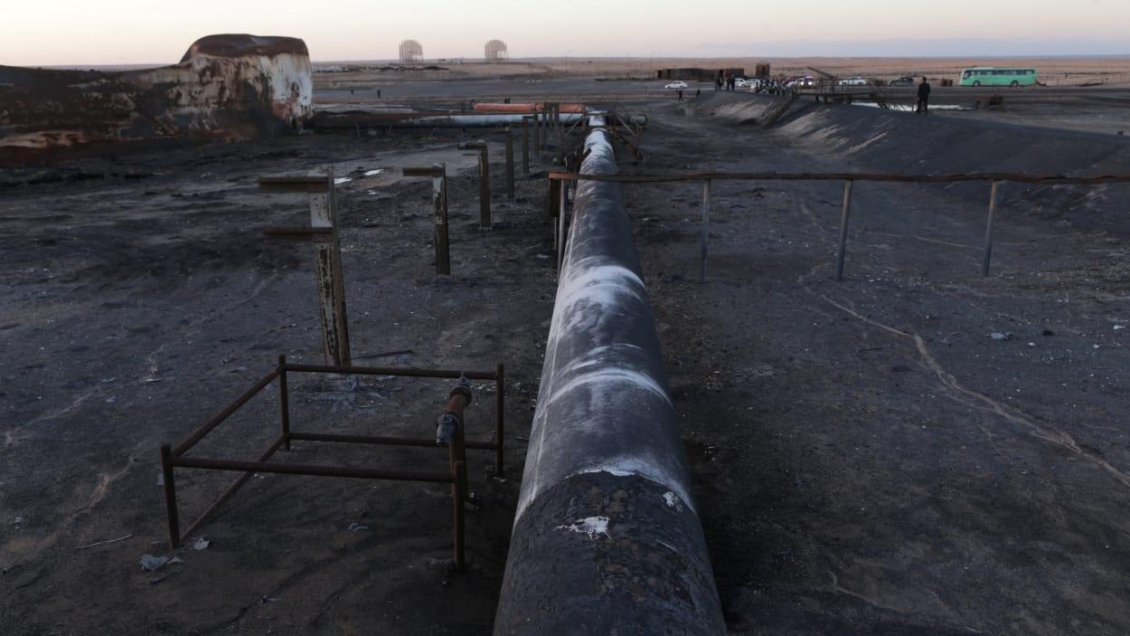 Il faudra une semaine pour réparer l'oléoduc dans l'est de la Libye