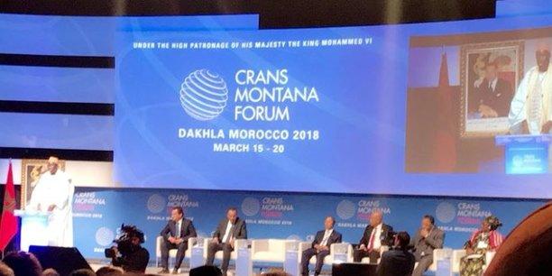 Maroc: Plus de 100 pays représentés au Forum Crans Montana de Dakhla